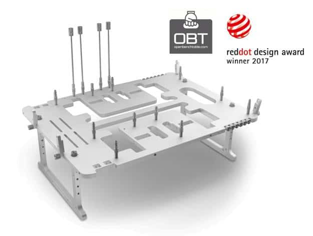 OBT BC1 with reddot design award iF