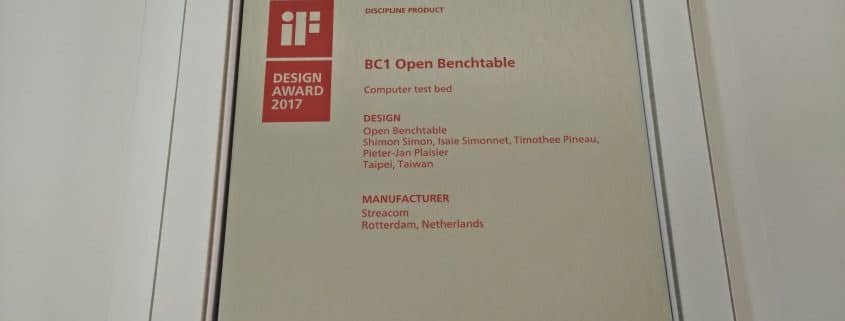 OBT BC1 Design award iF
