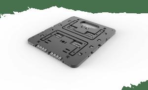 Open Benchtable Mini Black Edition