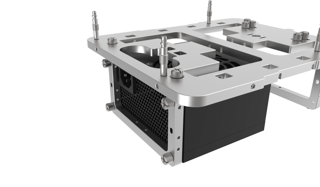 Open Benchtable Mini PSU Support