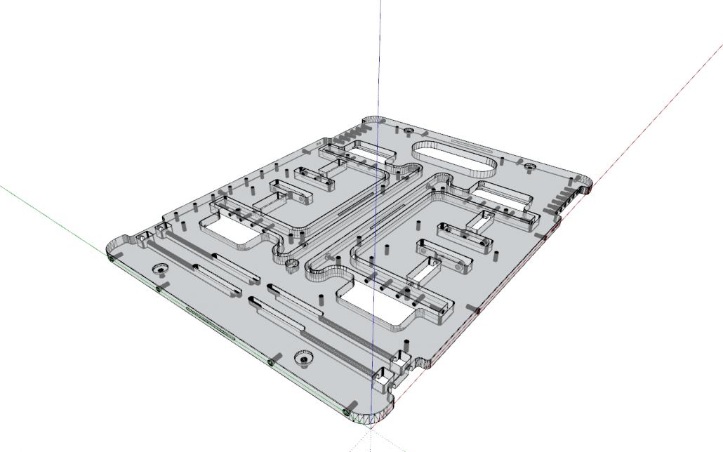 Open Benchtable v1.1 3D model