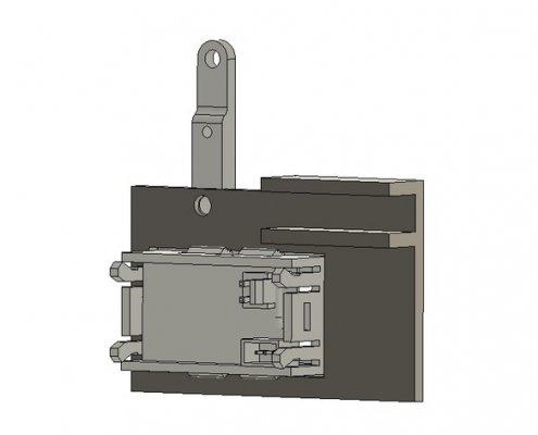 Digital voltmeter bracket open benchtable