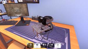 PC Building Simulato Open Benchtable Silver (screen)