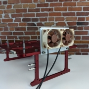 VRM Cooling bracket by attached to the Open Benchtable